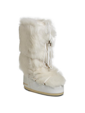Moon Boot Moon Boot Śniegowce Classic 50° Shearling 14025800001 Biały