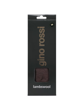 Gino Rossi Gino Rossi Tălpici cu încălzire Lambswool 000-12 r.39 Maro