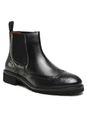 Salamander Salamander Kotníková obuv s elastickým prvkem Modena 31-61404-01 Černá