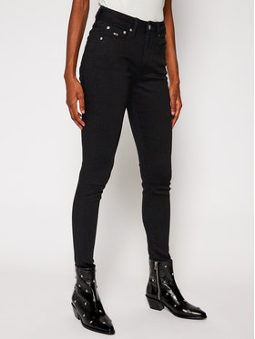Tommy Jeans Tommy Jeans Super Skinny Fit Jeans Sylvia Hr DW0DW09161 Schwarz Super Skinny Fit