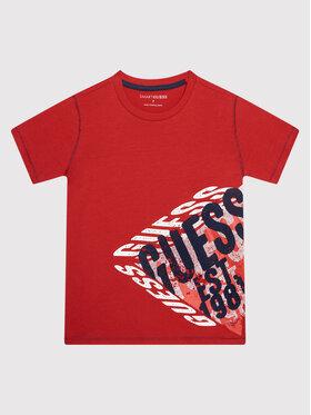 Guess Guess T-shirt L1BI12 I3Z11 Rosso Regular Fit