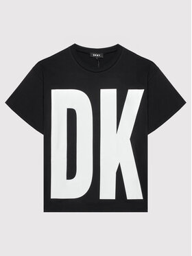DKNY DKNY T-shirt D35R61 D Noir Regular Fit