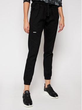 Diamante Wear Diamante Wear Joggers Unisex Jeans V3 5344 Negru Regular Fit