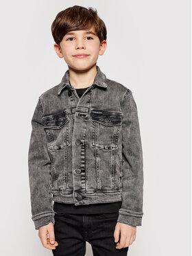 Calvin Klein Jeans Calvin Klein Jeans Džinsinė striukė Trucker IB0IB00723 Pilka Regular Fit