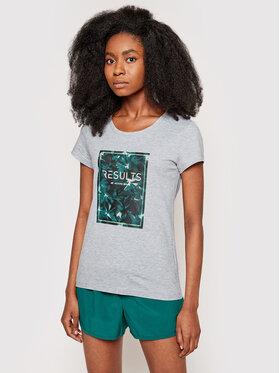4F 4F T-Shirt H4L21-TSD031 Grau Regular Fit