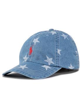 Polo Ralph Lauren Polo Ralph Lauren Καπέλο Jockey Baseball Cap 323793582001 Μπλε