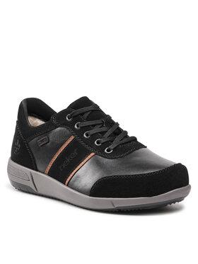 Rieker Rieker Sneakersy B0932-00 Czarny