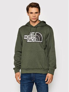 The North Face The North Face Majica dugih rukava Explr NF0A5G9S Zelena Regular Fit