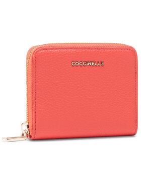 Coccinelle Coccinelle Kis női pénztárca HW5 Mettallic Soft E2 HW5 11 A2 01 Piros