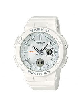 Baby-G Baby-G Часовник BGA-255-7AER Бял