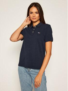Tommy Jeans Tommy Jeans Polo marškinėliai Classics DW0DW07641 Tamsiai mėlyna Regular Fit