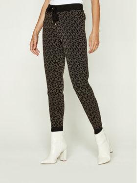 MICHAEL Michael Kors MICHAEL Michael Kors Sportinės kelnės Fashion Basics MF03HEXF5R Juoda Regular Fit