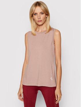 Carpatree Carpatree Techniniai marškinėliai Slit CPW-SHI-1001 Rožinė Regular Fit