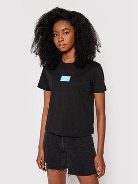Calvin Klein Jeans Calvin Klein Jeans T-shirt J20J216184 Crna Regular Fit