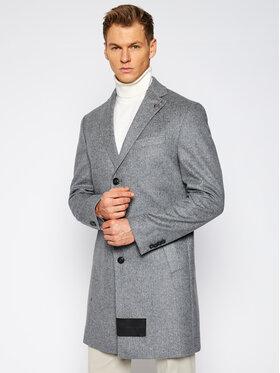 Baldessarini Baldessarini Vlnený kabát Duncan 18654 8891 Sivá Regular Fit
