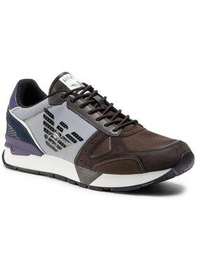 Emporio Armani Emporio Armani Sneakers X4X289 XM499 N022 Maro