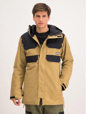 DC Snowboardová bunda Haven EDYTJ03096 Béžová Tailored Fit