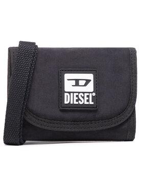 Diesel Diesel Nagyméretű férfi pénztárca Yoshino Loop III X07900 P3383 Fekete
