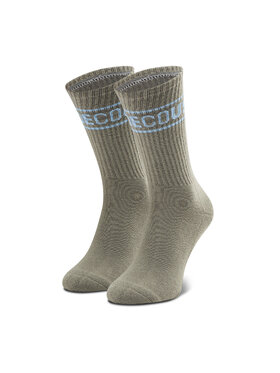 DC DC Vysoké pánske ponožky EDYAA03170 Sivá