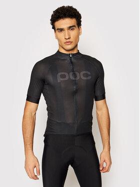 POC POC Cyklistické tričko Essential Road Logo 58131 Černá Slim Fit
