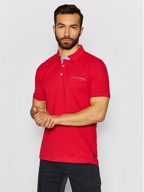 Pierre Cardin Pierre Cardin Polo 52084/000/11255 Czerwony Regular Fit
