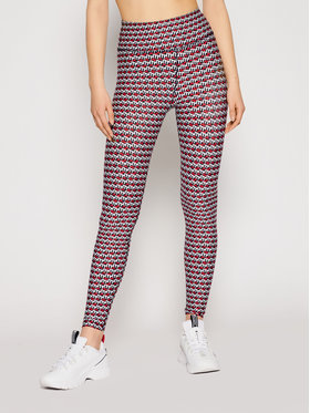 Tommy Hilfiger Tommy Hilfiger Leggings Hw Aop S10S100949 Multicolore Slim Fit