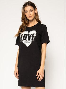 LOVE MOSCHINO LOVE MOSCHINO Sukienka codzienna W584714E 2124 Czarny Regular Fit