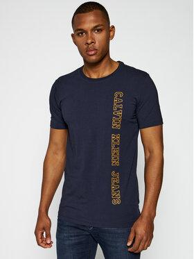 Calvin Klein Jeans Calvin Klein Jeans T-Shirt Vertical Instit J30J312571 Σκούρο μπλε Regular Fit