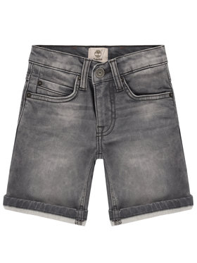 Timberland Timberland Pantaloni scurți de blugi T24A95 M Gri Regular Fit