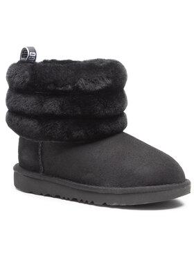 Ugg Ugg Pantofi T Fluff Mini Quilted 1103612K Negru