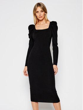 My Twin My Twin Sukienka dzianinowa 202MP3055 Czarny Slim Fit