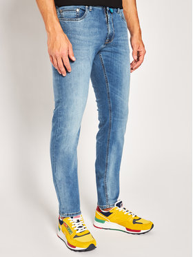 Pierre Cardin Pierre Cardin Jeansy Tapered Fit 34513 8888 Blu Tapered Fit