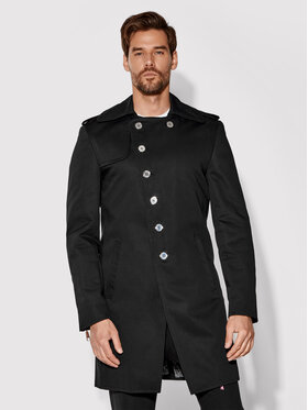 Rage Age Rage Age Trench Empire 2 Crna Regular Fit