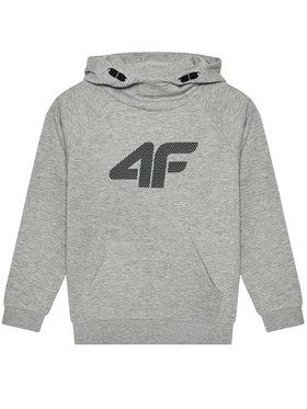 4F 4F Суитшърт HJL21-JBLM002A Сив Regular Fit
