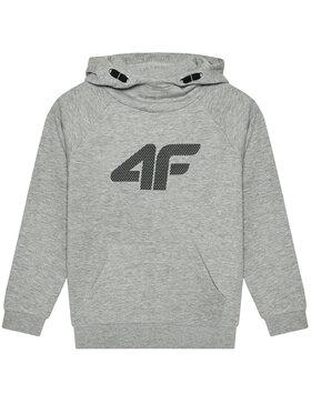 4F 4F Sweatshirt HJL21-JBLM002A Gris Regular Fit