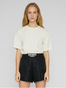 ROTATE ROTATE Sportske kratke hlače Roxy RT504 Crna Loose Fit