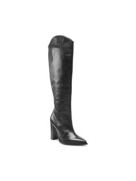 Solo Femme Solo Femme Μπότες πάνω από το γόνατο 14180-DD-M41/000-51-00 Μαύρο