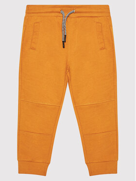 Coccodrillo Coccodrillo Teplákové kalhoty ZC1120106EVB Žlutá Regular Fit