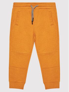 Coccodrillo Coccodrillo Teplákové nohavice ZC1120106EVB Žltá Regular Fit