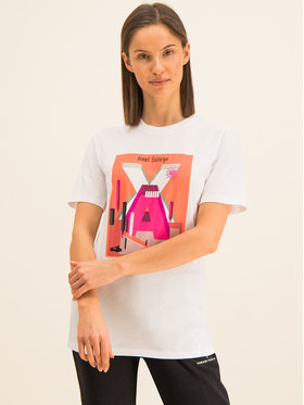Armani Exchange Armani Exchange T-Shirt 3HYTAC YJG3Z 1000 Weiß Regular Fit