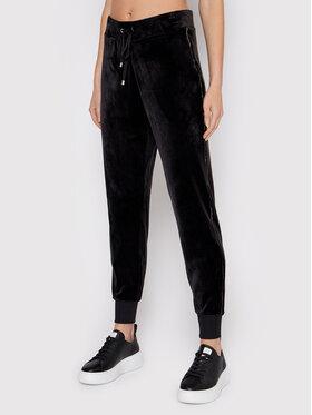 DKNY DKNY Teplákové kalhoty P1MFU156 Černá Regular Fit