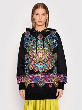Versace Jeans Couture Versace Jeans Couture Sweatshirt Placed 71HAI3P1 Noir Oversize