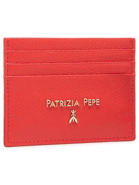 Patrizia Pepe Patrizia Pepe Puzdro na kreditné karty 2V7001/A4U8N-R309 Červená