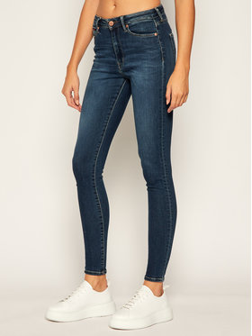 Tommy Jeans Tommy Jeans jeansy Skinny Fit Sylvia DW0DW08622 Blu scuro Super Skinny Fit