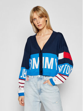 Tommy Jeans Tommy Jeans Кардиган Branded DW0DW10124 Цветен Regular Fit
