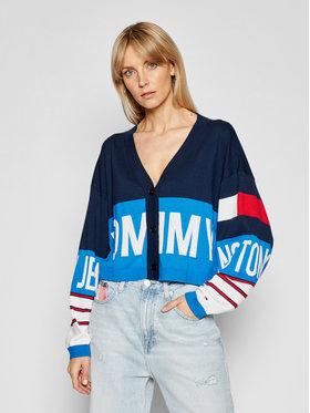 Tommy Jeans Tommy Jeans Kardiganas Branded DW0DW10124 Spalvota Regular Fit