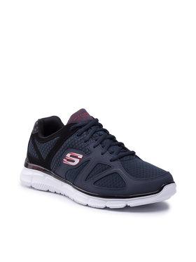 Skechers Skechers Cipő Flash Point 58350/NVBK Sötétkék