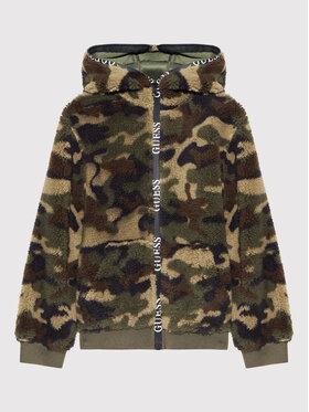 Guess Guess Átmeneti kabát H1BJ05 WDDZ0 Zöld Regular Fit