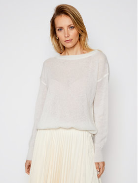 Max Mara Leisure Max Mara Leisure Sweter Pilade 33610116 Beżowy Regular Fit