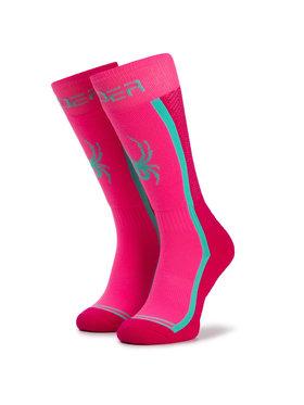 Spyder Spyder Κάλτσες Ψηλές Γυναικείες Sweep Socks 198070 L Ροζ